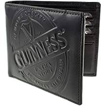 Guinness Black Label Leather Wallet, One Size, Black