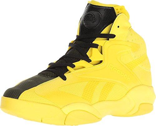 Reebok Shaq Attaq Modern Men's Basketball Shoes Yellow Spark/Black bd4602 (10 D(M) US) (Reebok Men Pump)