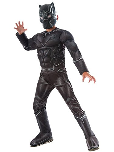 Rubie's Costume Captain America: Civil War Deluxe Black Panther Costume
