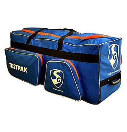 4937e2b9cd84 Image Unavailable. Image not available for. Colour  SG PU Tetron Fabric  Testpak Cricket Kit Bag ...
