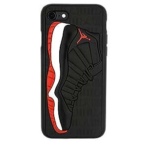 "Amazon.com: iPhone 6/6s 4.7"" Case, Jordan Bred 11s 3D"