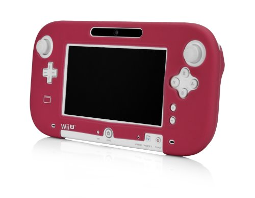 Wii U Gamepad Silicone Jacket - Red (Wii U Controller Gamepad Cover compare prices)