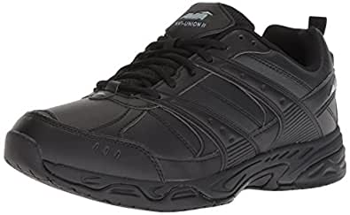 Avia Men's Avi-Union II Food Service Shoe, Black/Castle Rock, 7.5 Medium US