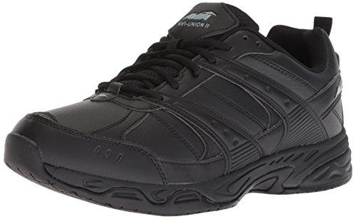 (Avia Men's Avi-Union II Food Service Shoe, Black/Castle Rock, 10.5 Wide)