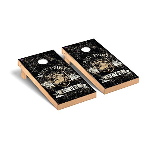 Army Black Knights Desktop Cornhole Game Set Banner Vintage Version (Black Knights Tabletop Army)