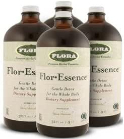 Amazon Com Flora Flor Essence Tea Cleanse 32 Oz Pack Of 4 Bottles Health Personal Care