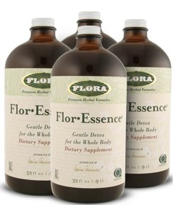 Flora Flor-Essence Tea Cleanse 32 Oz - Pack of 4 Bottles