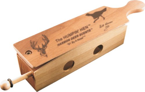 Harmon Scents - Humpin'Hen - Turkey Box Call - CCHTBC - Spring Gobbler -Turkey Call -