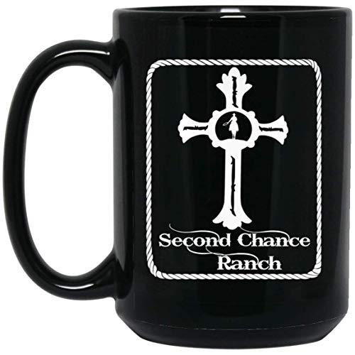 - Second Chance Ranch Christian 15 oz. Black Mug