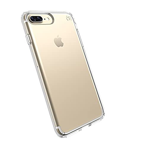 Speck Products Presidio Clear Cell Phone Case for iPhone 7 Plus - Clear (Iphone 6 Speck Clear Case)