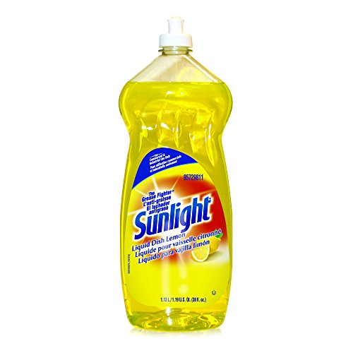 Sunlight Liquid Dish Detergent (Lemon Scent, 38-Ounce, 9-Pack)