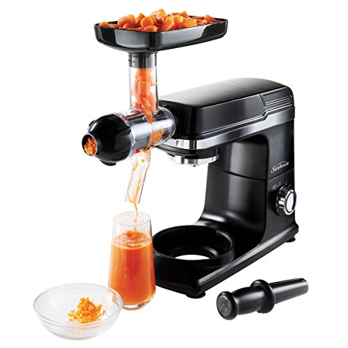 Sunbeam FPSBSM3481SJ-033 Planetary Stand Mixer Slow Juicer Accessory, Black Home Garden Kitchen ...
