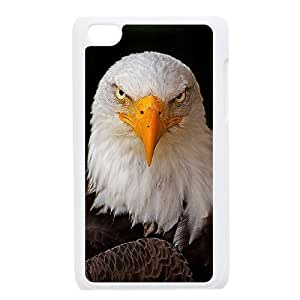 American Bald Eagle Customized Cover Case with Hard Shell Protection for Ipod Touch 4 Case lxa#823668