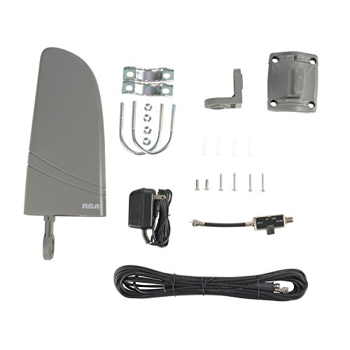 RCA ANT702Z Digital Amplified Indoor/Outdoor Antenna