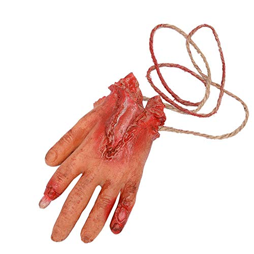 Halloween Scary Decoration KIKOY Bloody Fake Latex Arm Hand Foot Heart Brain Finger