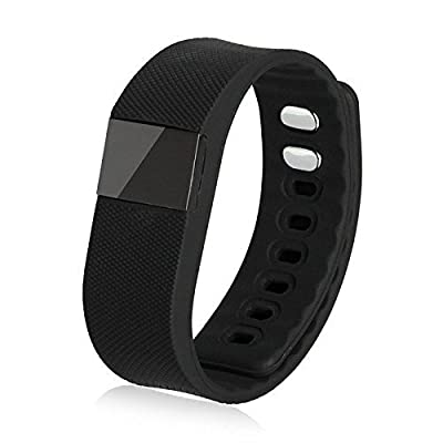 Geekercity® 2015 Bluetooth IP67 Water-resistant Smart Watch Wrist Digital Watches Sports Running Bracelet Smartphones Mate Partner Smartwatch Phone Wristband Wristwatch Fitness Health Passometer Step Walking Distance Calorie Counter Activity Tracker Sleep