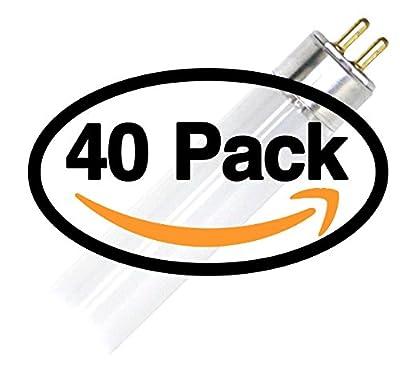 (40 Pack) Sylvania 20197 - FP54/835/HO/XL/ECO 54 Watt T5 HO High Output Fluorescent Tube Light 54W F54T5-3500K Replaces F54T5/HO F54T5/HO/835 F54W/T5/835/ECO FP54/835/HO/ECO F54T5/835/HO/ALTO