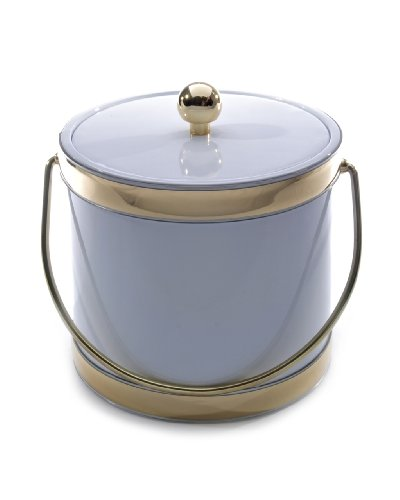 Ice Bucket 451-1 Accent White Ice Bucket, 3-Quart