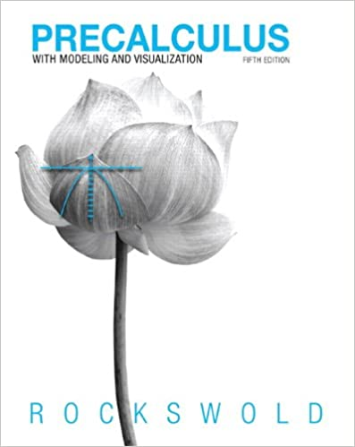 Precalculus with modeling visualization 5th edition gary k precalculus with modeling visualization 5th edition gary k rockswold 9780321826022 amazon books fandeluxe Gallery