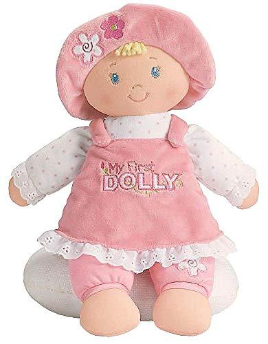 GUND My First Dolly Stuffed Plush Blonde Doll, -