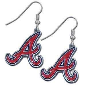 MLB Atlanta Braves Dangler Earrings ()