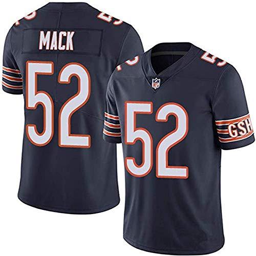 MY0629 Jersey De Rugby De Fútbol Americano De La NFL Jersey-Chicago Bears 52# Mack -entusiastas del fútbol Americano…