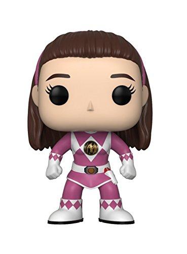 Funko Pop Television: Power Rangers - Pink Ranger (No Helmet) Collectible Figure, Multicolor -