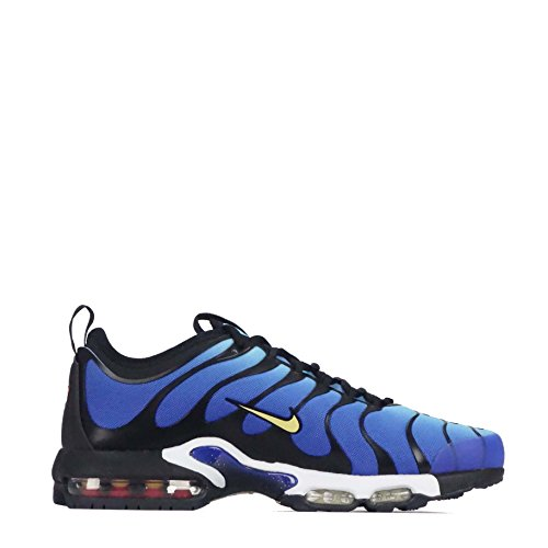 NIKE Mens Air Max Plus Ultra Sneakers New, Hyper Blue/Black 898015-402