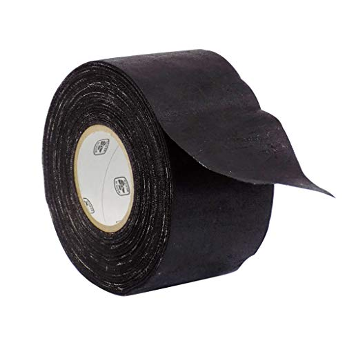 WOD CFT-15 Black Industrial and Electrical Harness Wiring Friction Tape, Heat Proof Engine Compartment Wiring Tape for VW AUDI BMW (Available in Multiple Sizes): 2 in. X 60 yds. (Pack of 1)