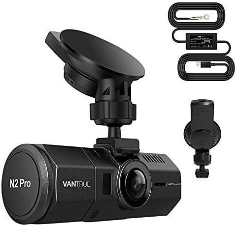 Bundle: Vantrue N2 Pro Dual 1080P Dash Cam