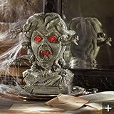 Medusa Animated Lighted Motion & Sound Halloween