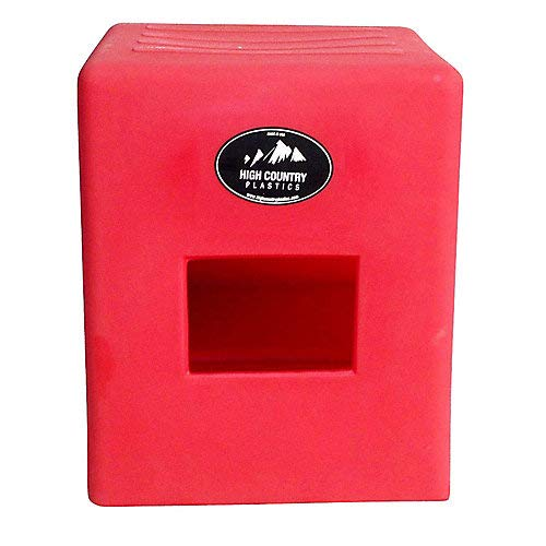High Country 2-Step Mounting Block Red by High Country Plastics
