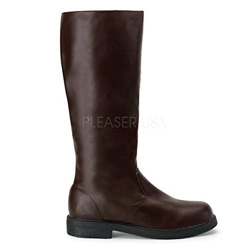 Funtasma by Pleaser Men's Halloween Captain-100,Brown,S (US Men's 8-9 M)]()
