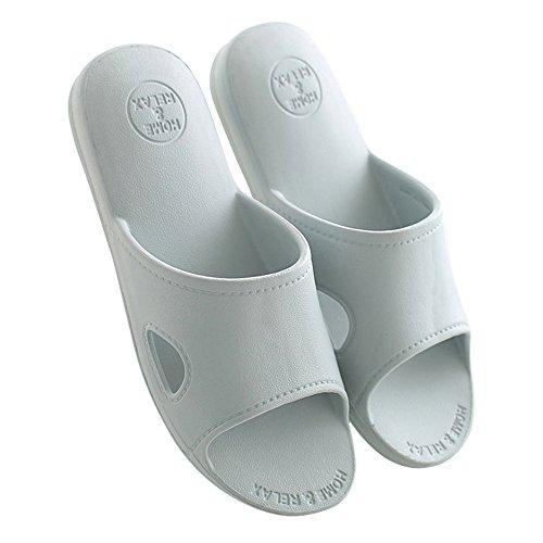 Doccia Bagno Piscina suola Mianshe Sandali Slip Antiscivolo Grigio adulti per House Schiume Pantofole Mule On Slide scarpe qnt7wnxgH4