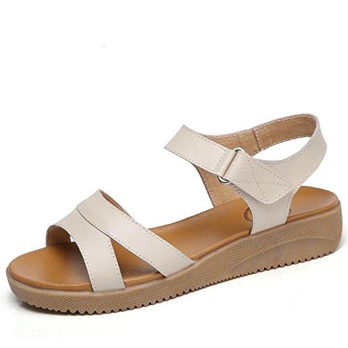 XZGC Zapatos de tacón Mujer Albicocca