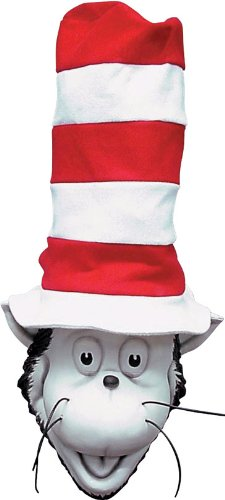 The Cat in the Hat Latex Mask]()