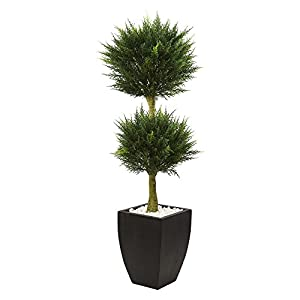 Nearly Natural Cypress Topiary 88