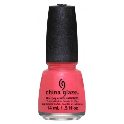 運河実験をするボルト(3 Pack) CHINA GLAZE Nail Lacquer - Art City Flourish - Strike A Rose (並行輸入品)