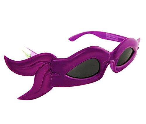 Ninja Turtle Sun-Staches Novelty Glasses - Donatello - Purple]()