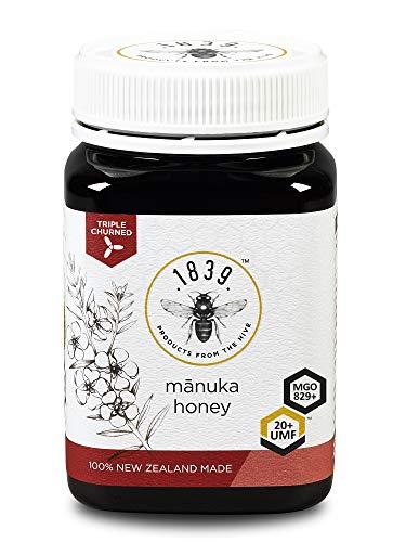 1839 Honey UMF 20+ Premium Manuka Honey (MGO 829+), 250g (8.8 oz) by 1839 Products From The Hive (Image #4)