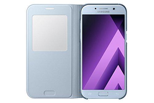 Samsung EF-CA520PFEGWW - Funda para Galaxy A5 2017, color dorado Azul