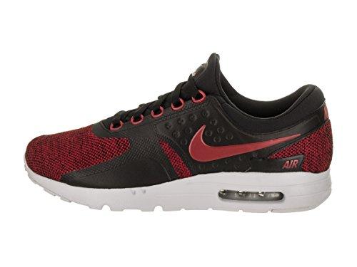 Nike Hombres Zapatilla Air Max Zero Se Zapatilla Hombres De Running Negro  Wolf Gris  Pure Platinum 499949