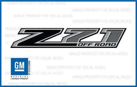 2014 z71 decals - 3
