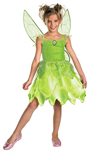 Girls Disney Fairies Tink and The Fairy Rescue Classic Costume, X-Small -