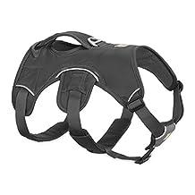 Ruffwear - Web Master Secure, Reflective, Multi-Use Harness for Dogs, Twilight Gray (2017), Small