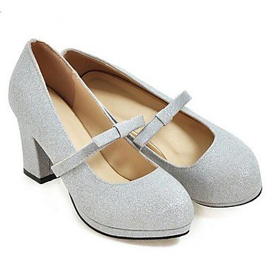 RTRY Las Mujeres'S Wedding Shoes Confort Casual Primavera Paillette Parte &Amp; Noche Comodidad Plata Oro 3A-3 3/4 Pulg. US8 / EU39 / UK6 / CN39