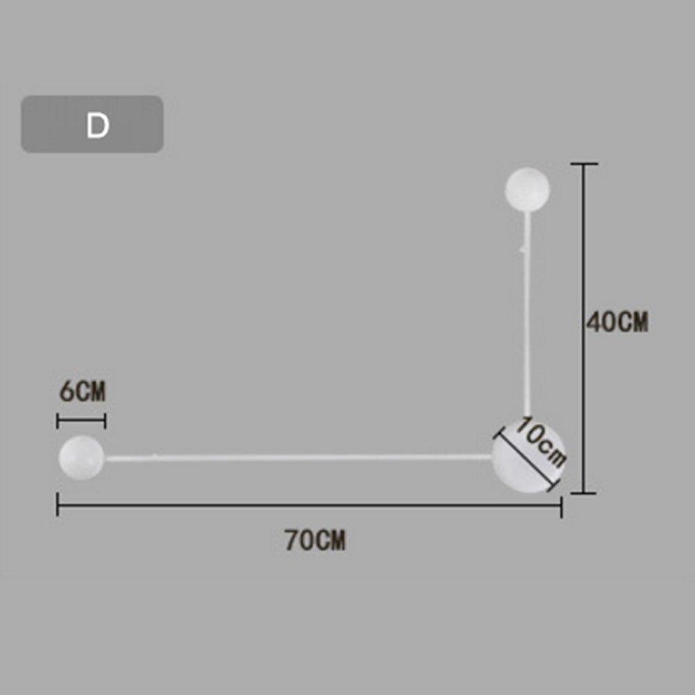 Exhibition Light D Model : Oofay led wall lamp modern minimalist bedroom bedside lamp creative