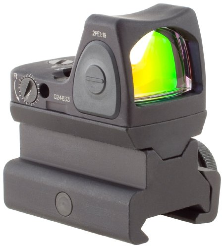 Trijicon RM06 34 RMR 3.25 MOA Adjustable LED Red Dot Sight with RM34 Tall Picatinny Mount