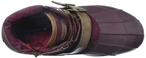Tommy Hilfiger Burgundy Regin Boot Women's Snow ZpFqrZPBW