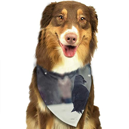 Pet Scarf Dog Bandana Bibs Triangle Head Scarfs Birds Accessories for Cats Baby Puppy -